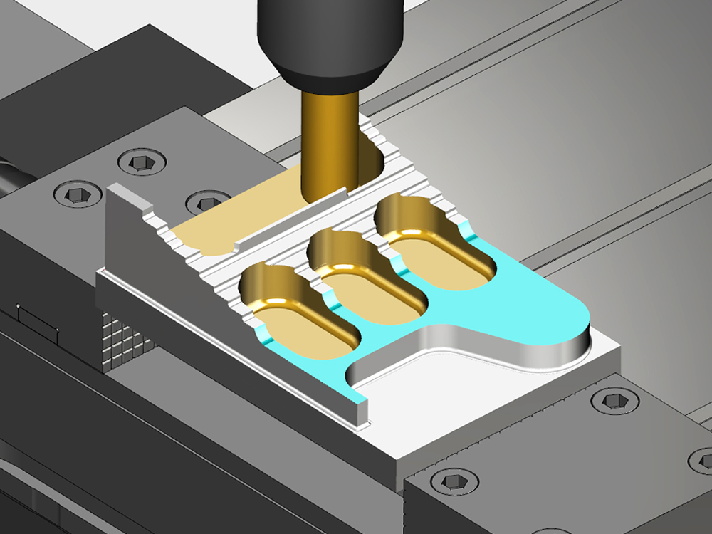 VERICUT enables you to perform realistic 3D simulations of entire CNC machines, just like they behave in the shop,<br>with the most accurate collision-detection available.